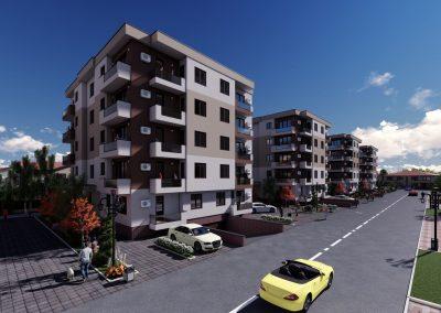 Apartamente noi în Albert