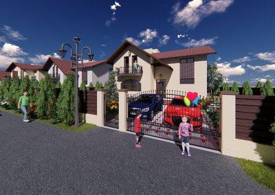 Case noi în Albert